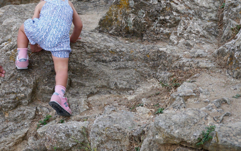 aufstieg-chateau-de-grimaud-klettern