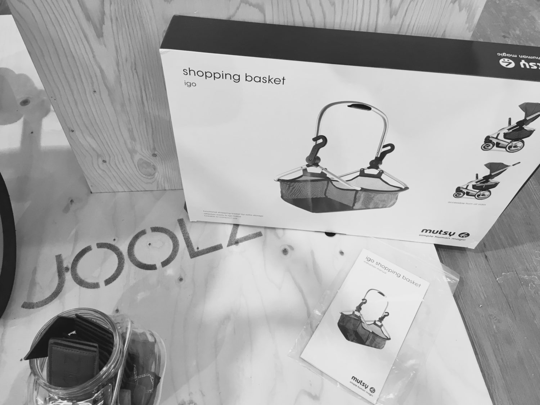 Joolz Day - Einkaufskorb - Hack, Mutsy Shopping Basket igo