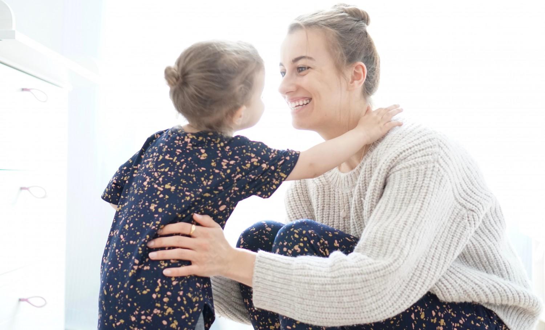 Krippeneingewöhnung Part 1 Mama und Tochter