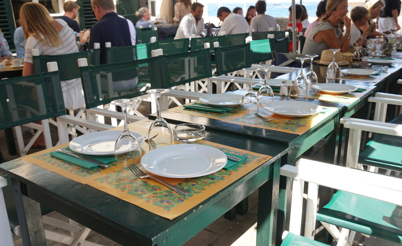 Saint Tropez - 8 Tipps & Hotspots by SUSAMAMMA.de - La Mazagran draußen