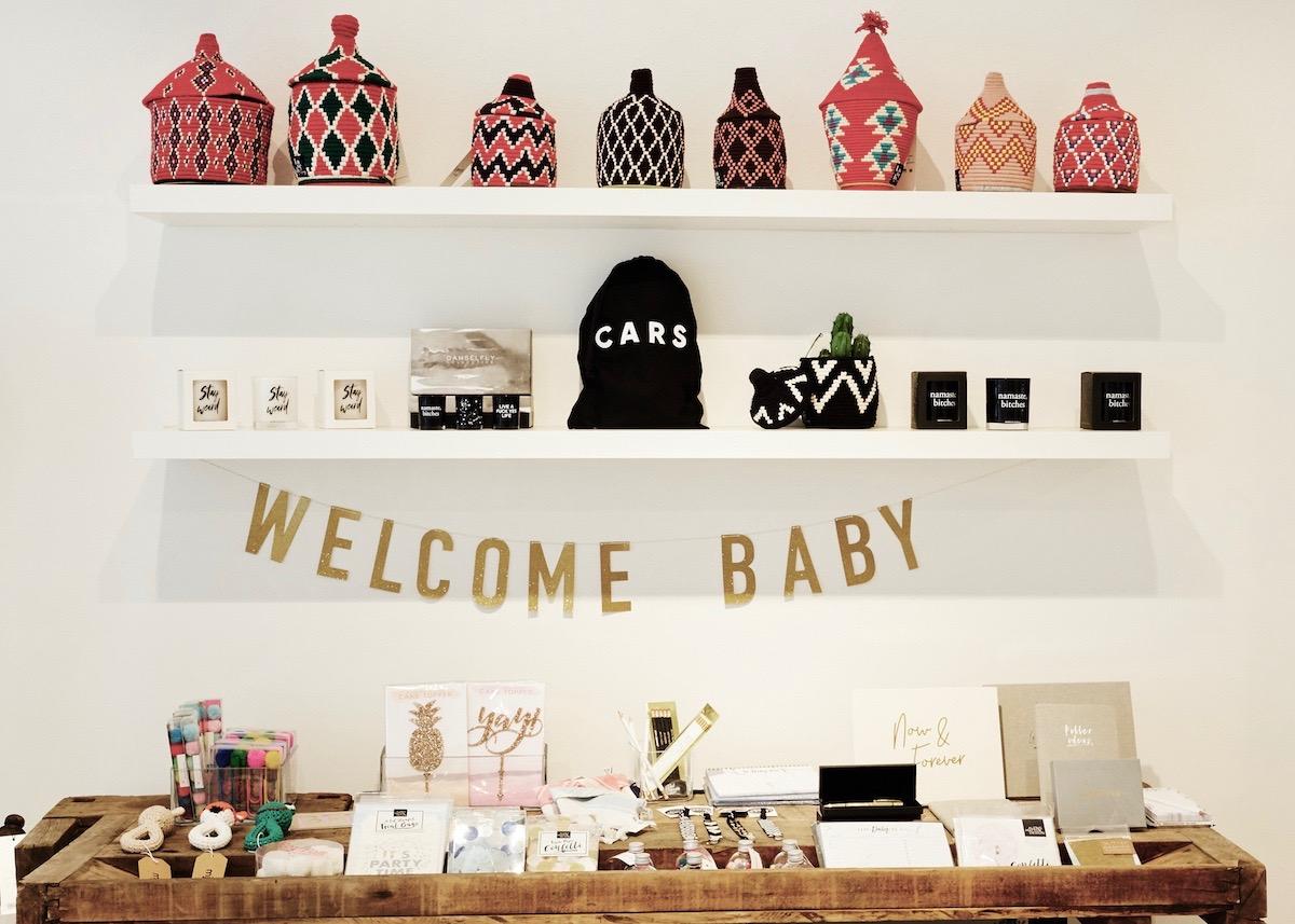 Das Geschenk zur Geburt + 3 Baby & Kind Shop Empfehlungen - Welcome Baby im The Lovely Concept Store in München
