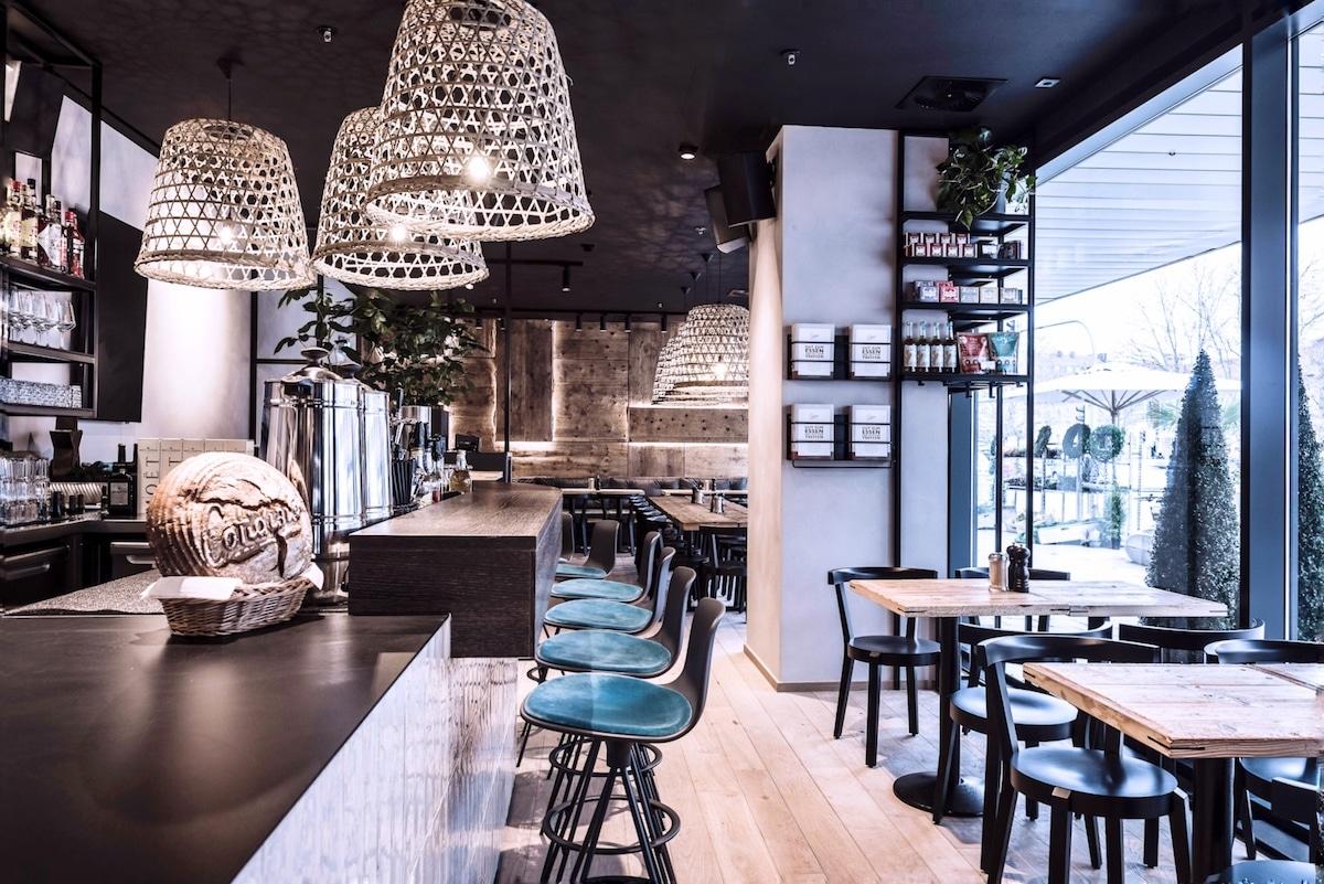 Cotidiano am Nordbad - morgens mittags abends Innenansicht Restaurant