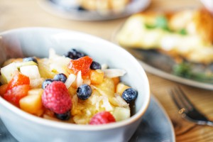 Cotidiano am Nordbad - morgens mittags abends Obstsalat