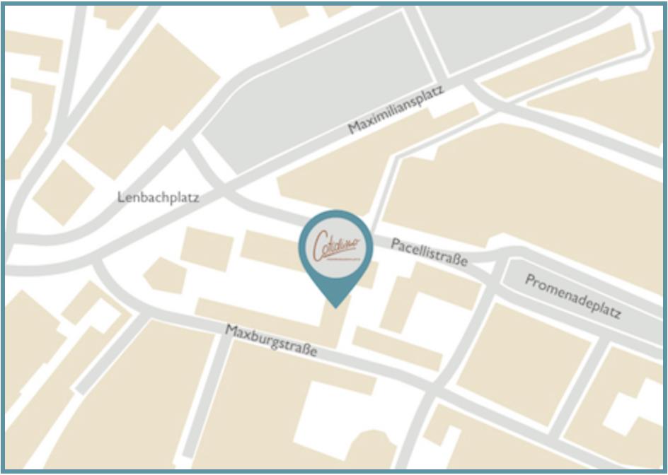 Cotidiano am Promenadeplatz Karte