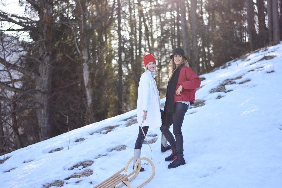 Chic & Schlittentauglich - Ein Winterschuh für alle Fälle + Outfit, Auf die Berge, fertig, los!