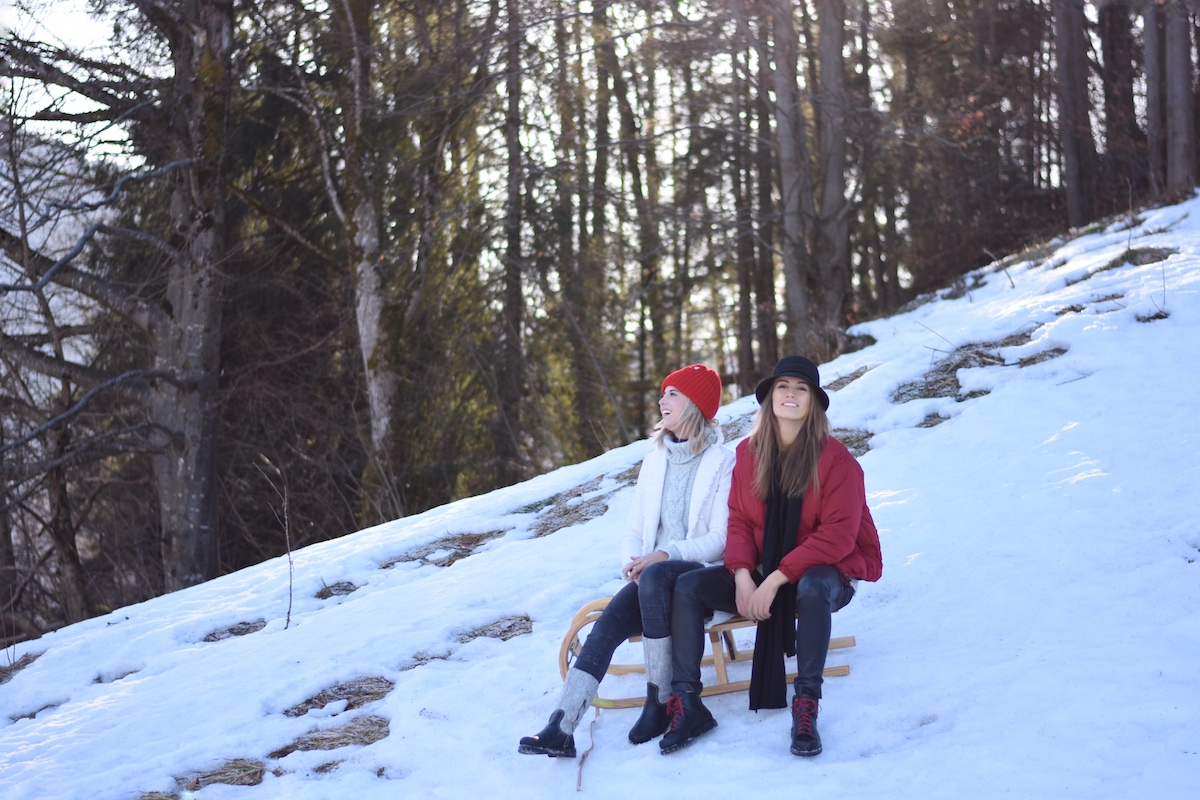 Chic & Schlittentauglich - Ein Winterschuh für alle Fälle + Outfit, kleine Pause von der Sause