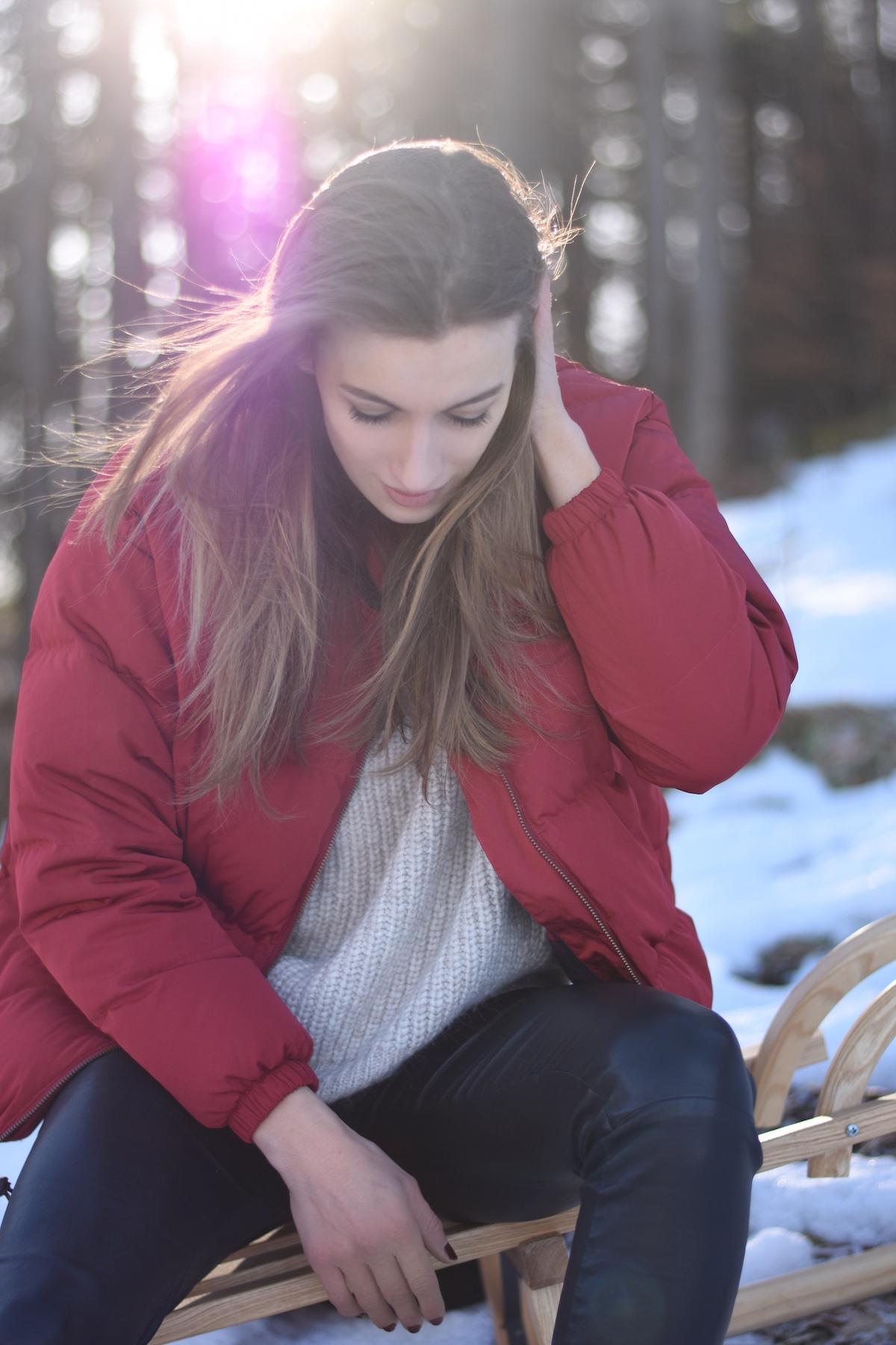 Chic & Schlittentauglich - Ein Winterschuh für alle Fälle + Outfit, nimm dir einen Moment Mamaauszeit