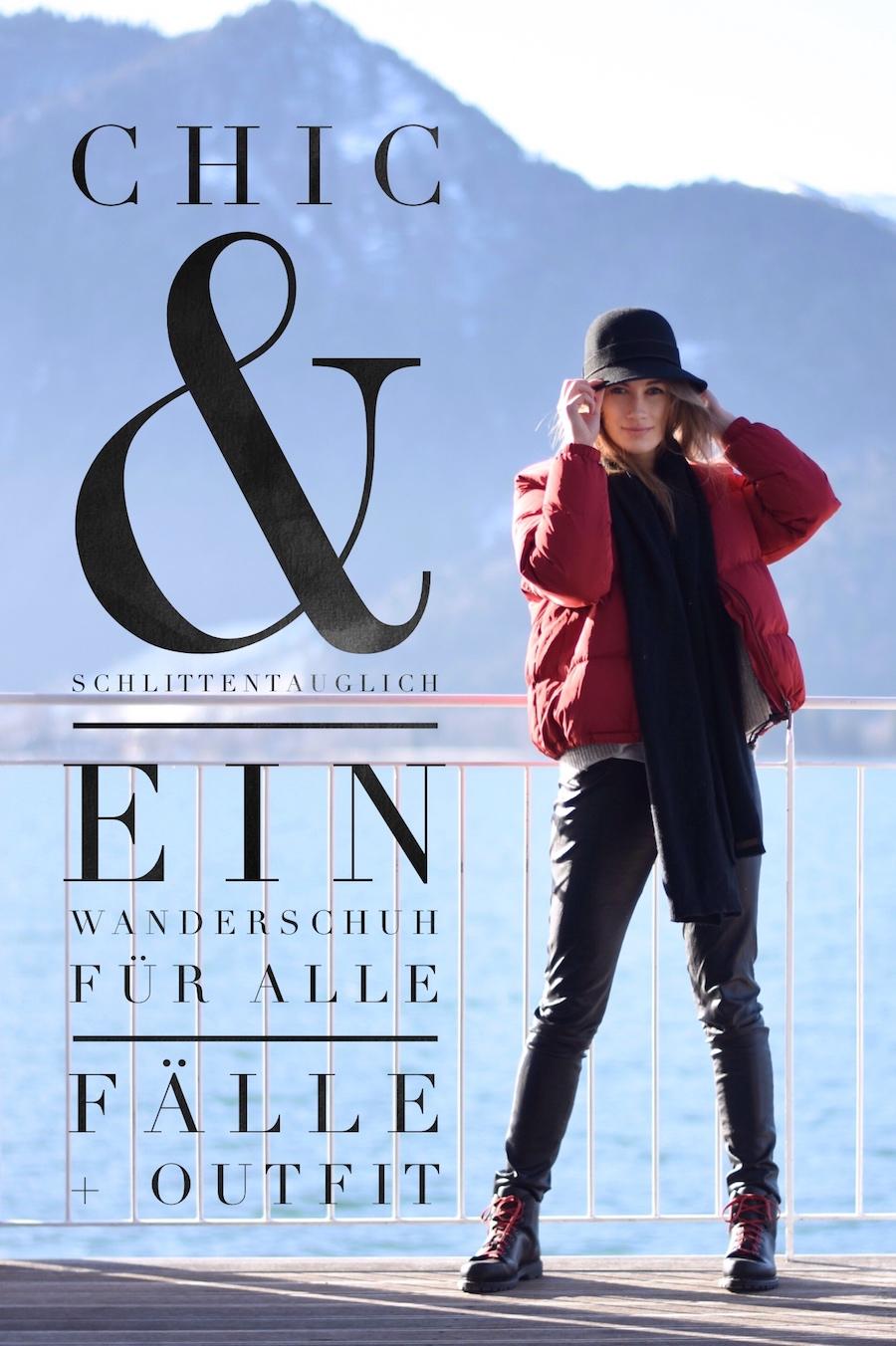 Chic & Schlittentauglich - Ein Wanderschuh für alle Fälle + Outfit susamamma.de PinIt