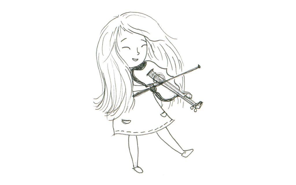 Das Haus mit der Herzenstür - Interview mit Autorin Diana Marino, Mavie mit der Violine by Artemis Wolf
