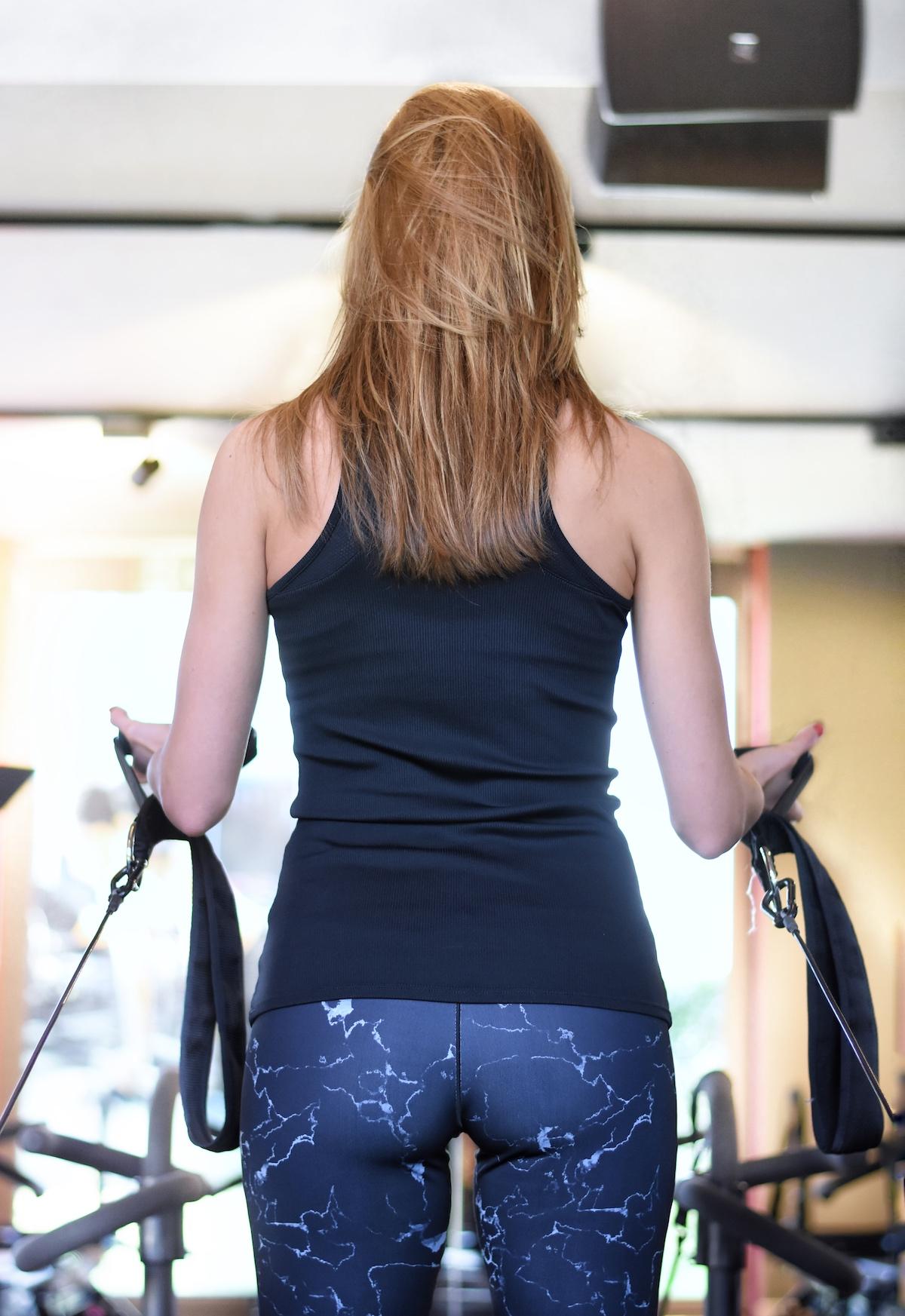 Studio Lagree München - ganzheitliches Fitnesstraining | Interview Arme trainieren