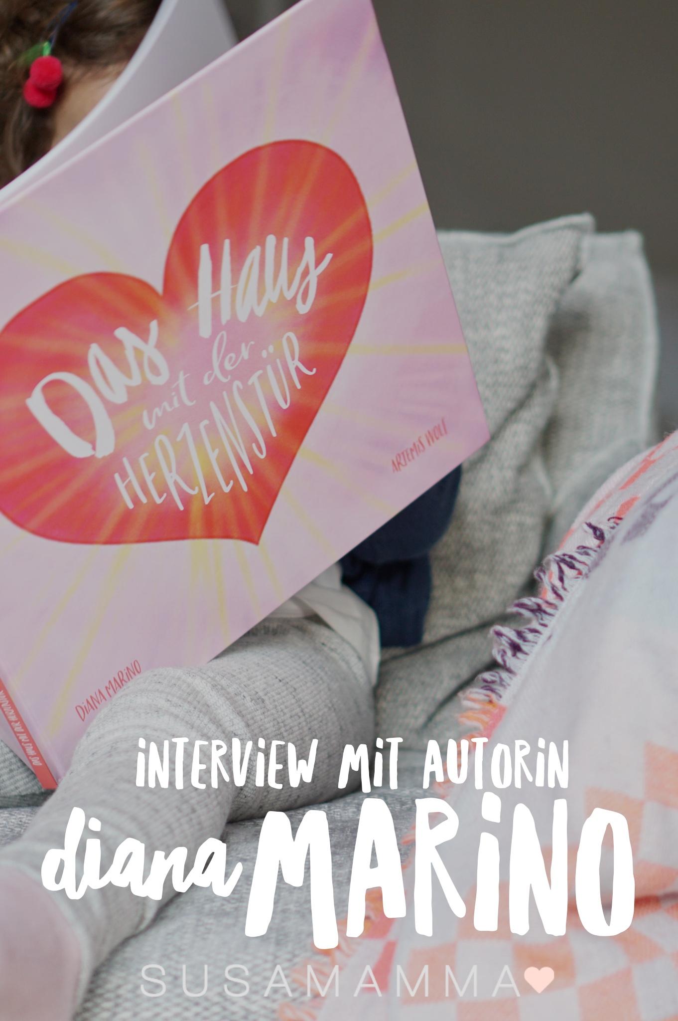 Das Haus mit der Herzenstür - Interview mit Autorin Diana Marino
