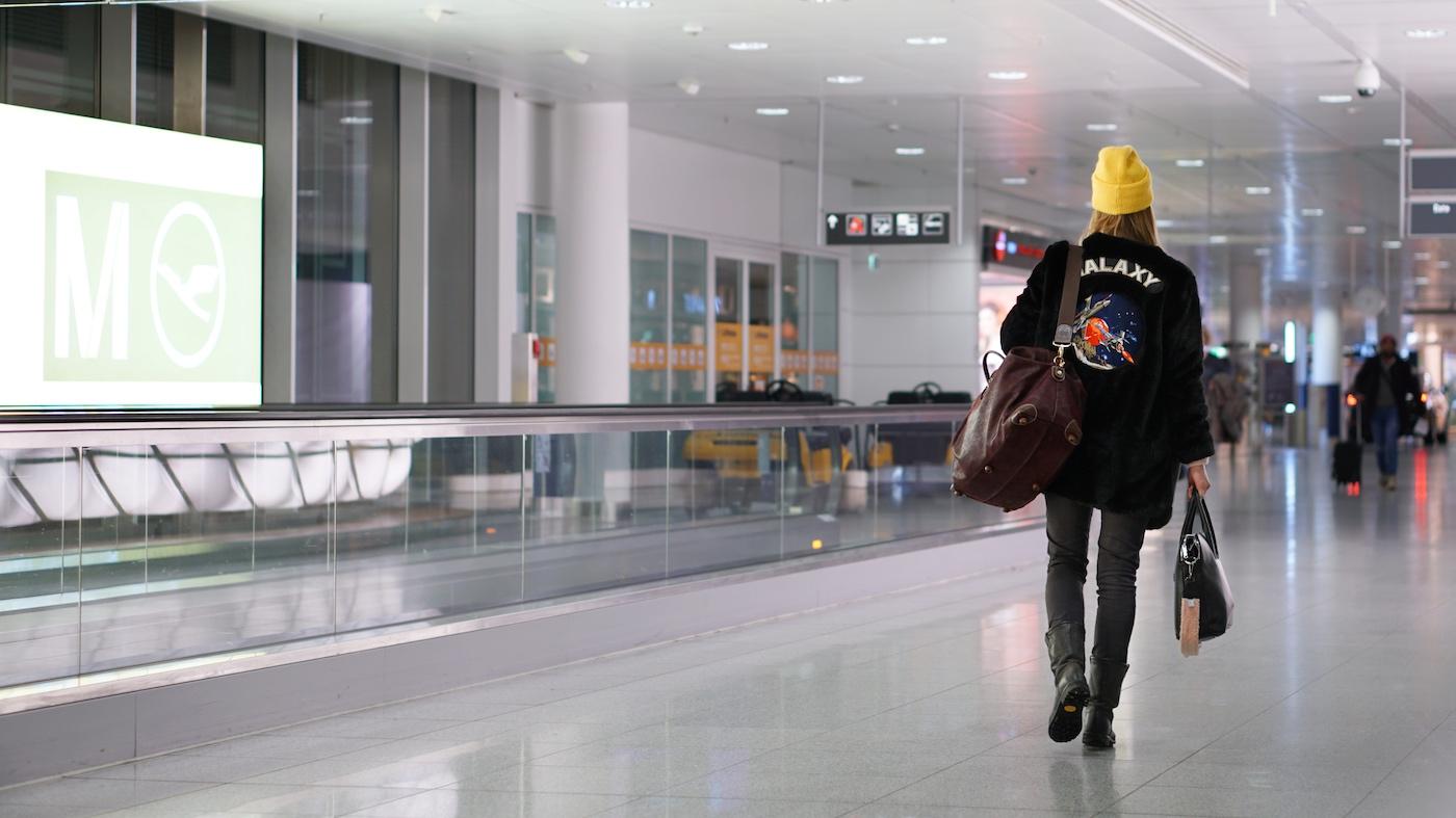 Flugreise ohne Kind - 5 Dinge die anders sind Meine erste Flugreise ohne Kind Flughafen München