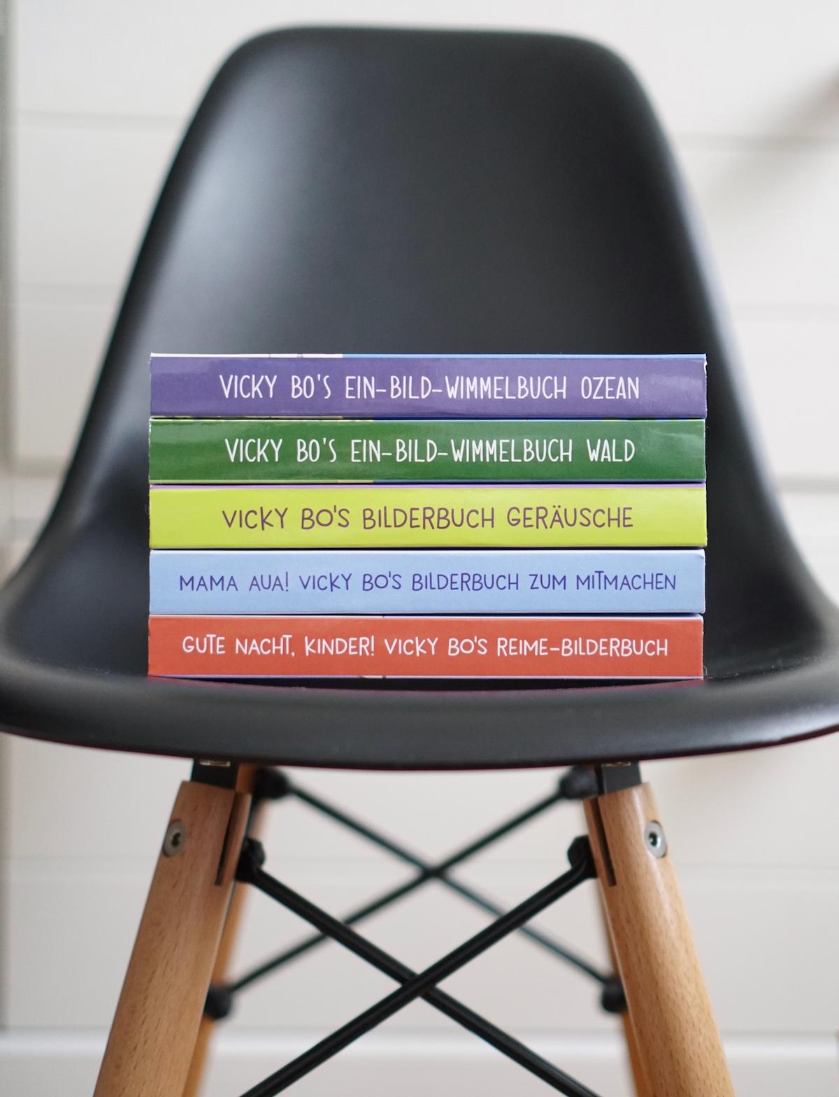 Malen und Lesen mit Vicky Bo Bücher