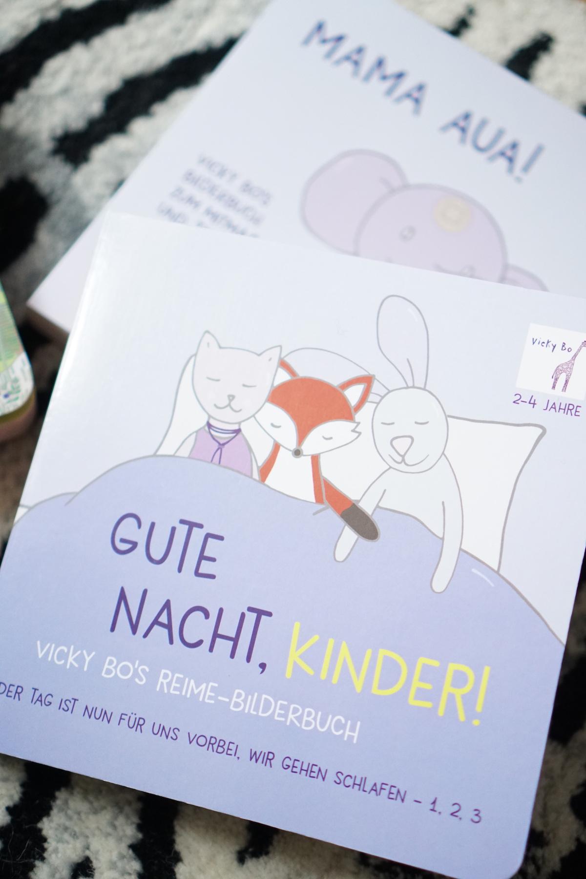 Malen und Lesen mit Vicky Bo Gute Nacht Buch