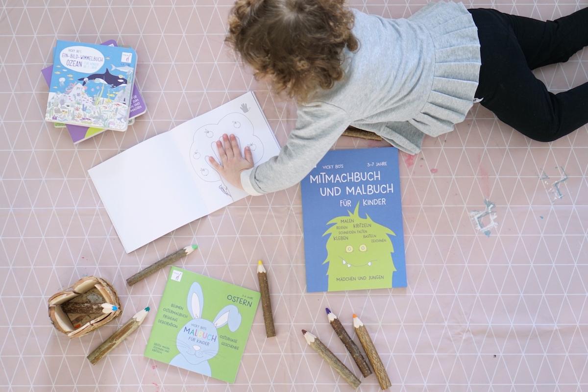 Malen und Lesen mit Vicky Bo Kreativ sein