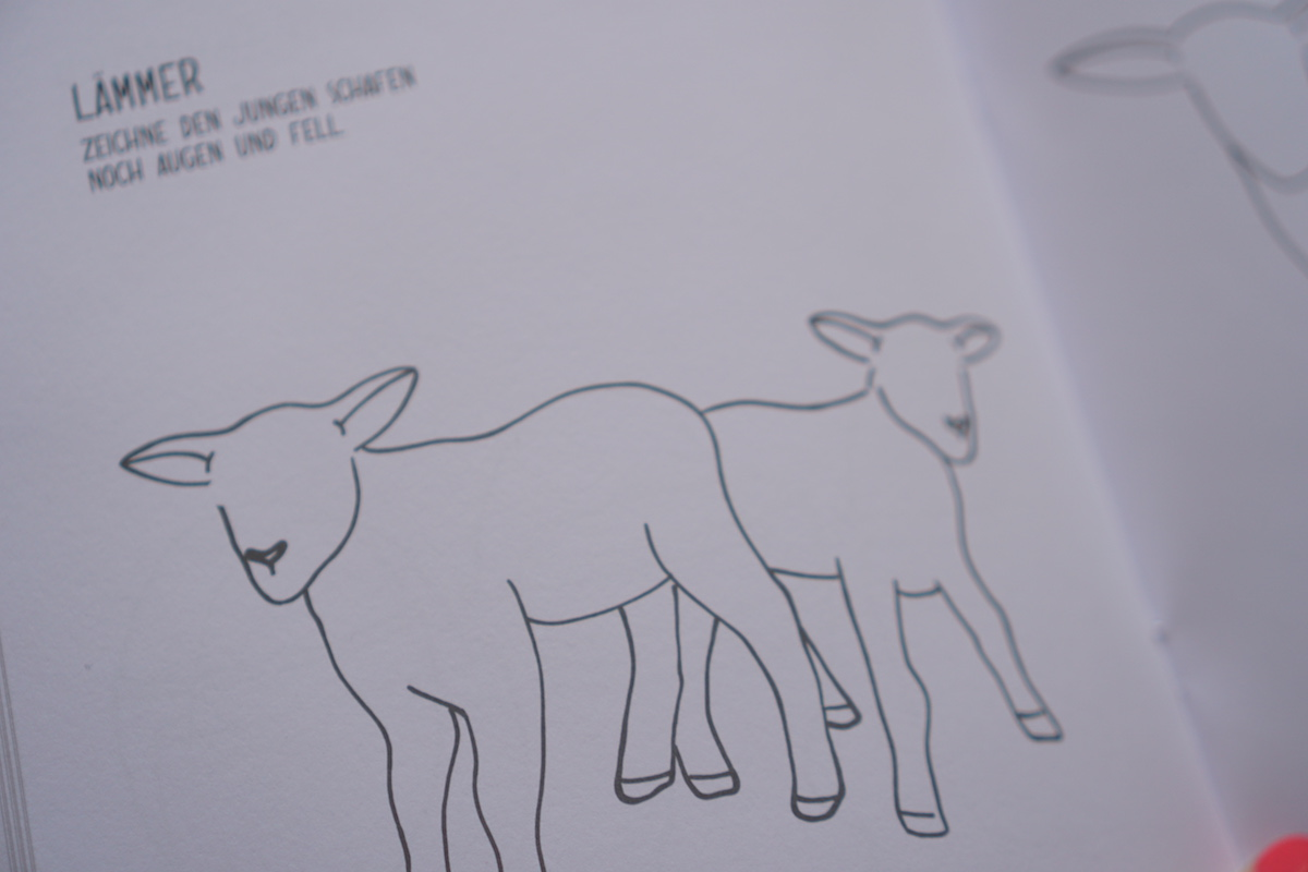 Malen und Lesen mit Vicky Bo Ostern Malbuch