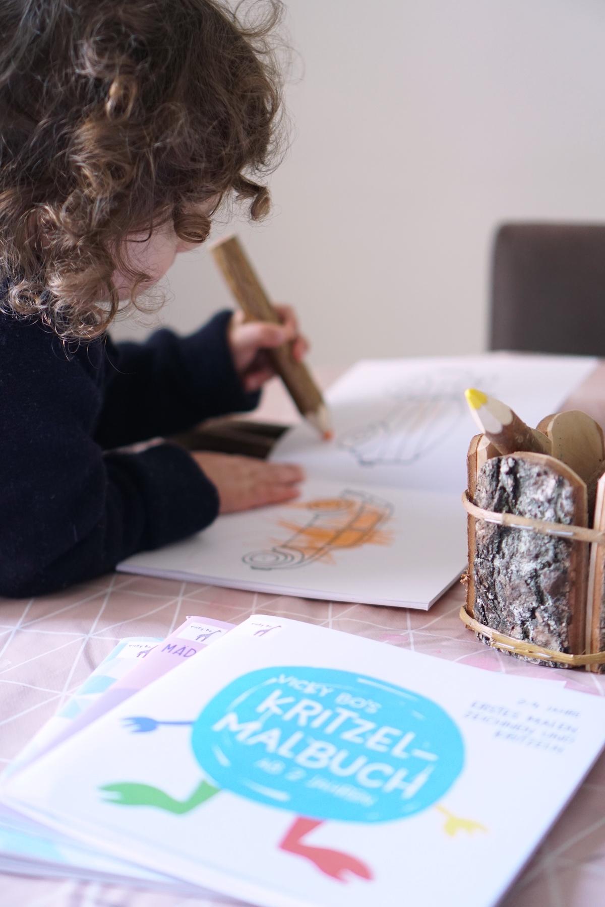 Malen und Lesen mit Vicky Bo Wir lieben Malen