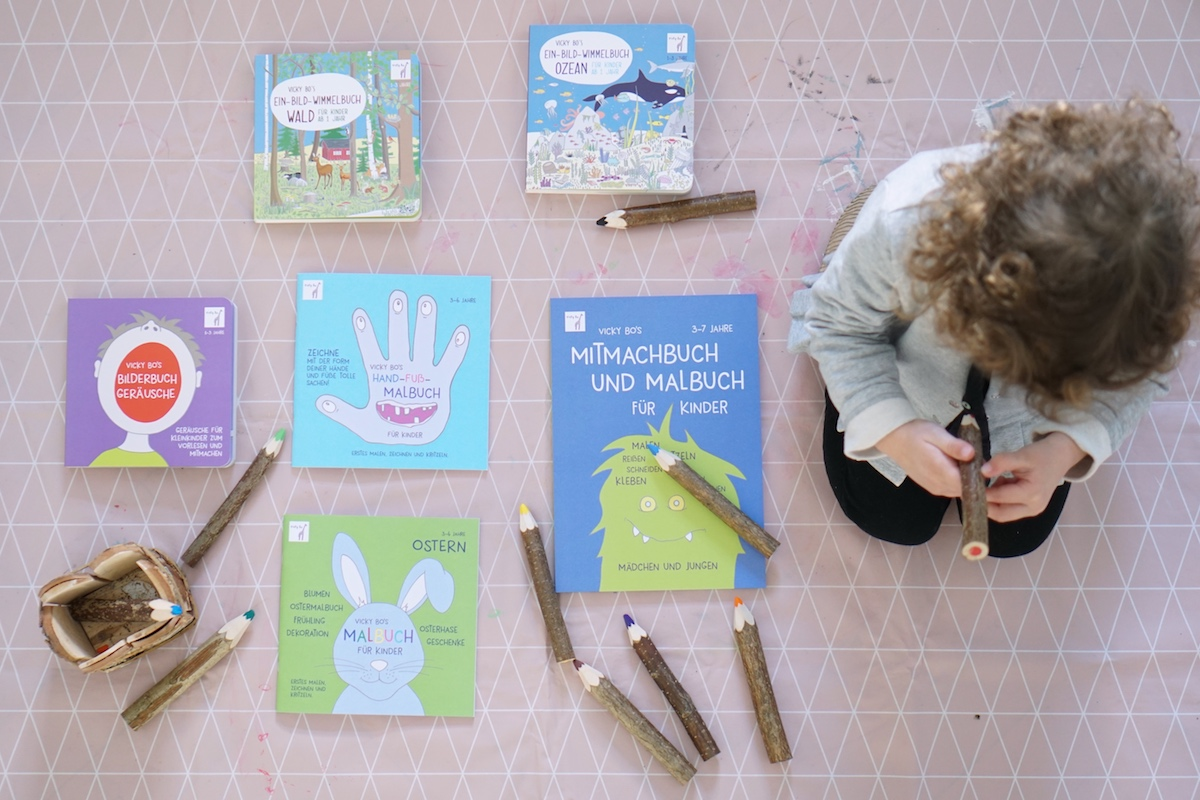Malen und Lesen mit Vicky Bo alle neuen (Mal)Bücher