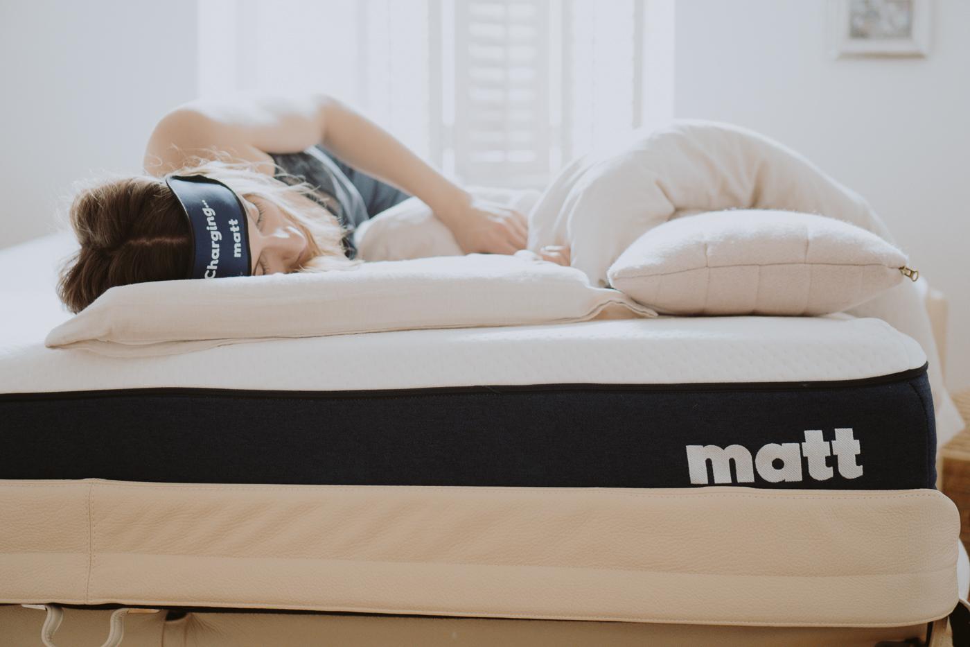 Schlafen ist schön. Matt Sleeps - Eine Matratze für jeden Schlaftyp, Matt all Day