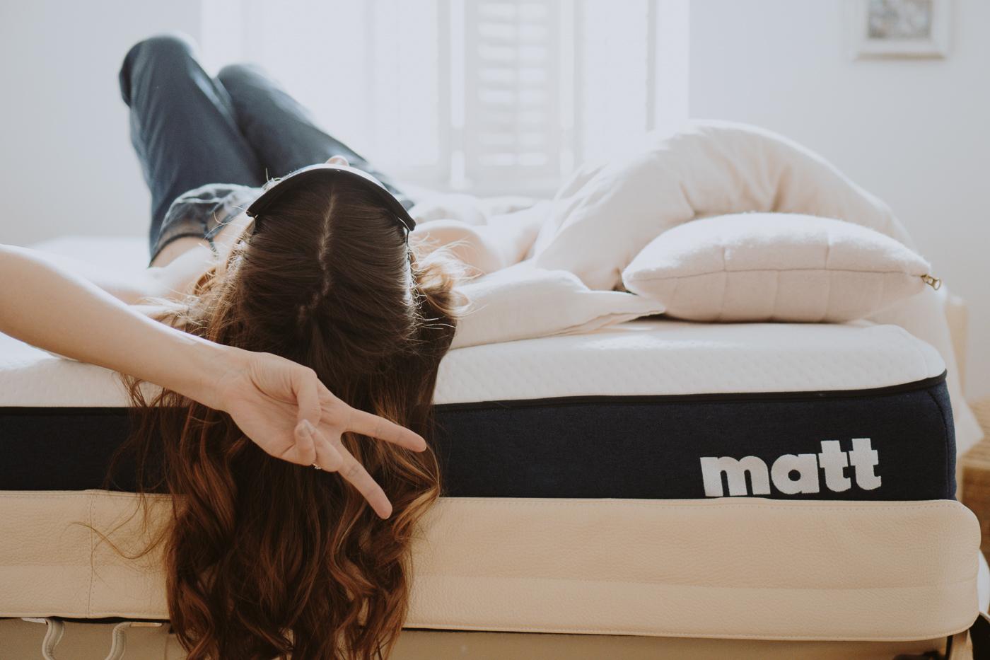 Schlafen ist schön. Matt Sleeps - Eine Matratze für jeden Schlaftyp, Peace Matt