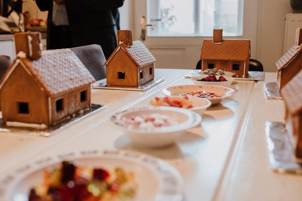 Mottogeburtstag: LET'S GET WILD - Minnies 4. Geburtstag in a box Pfefferkuchenhäuser