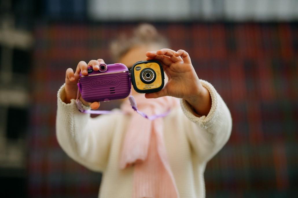Von #cameramama zu Kamera, Mama! - Kinderkamera kidizoom vtech