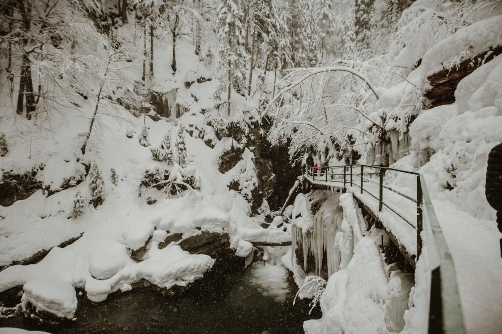 Ein Familienwochenende in Oberstdorf KleinwalsertalBreitachklamm Natur-min