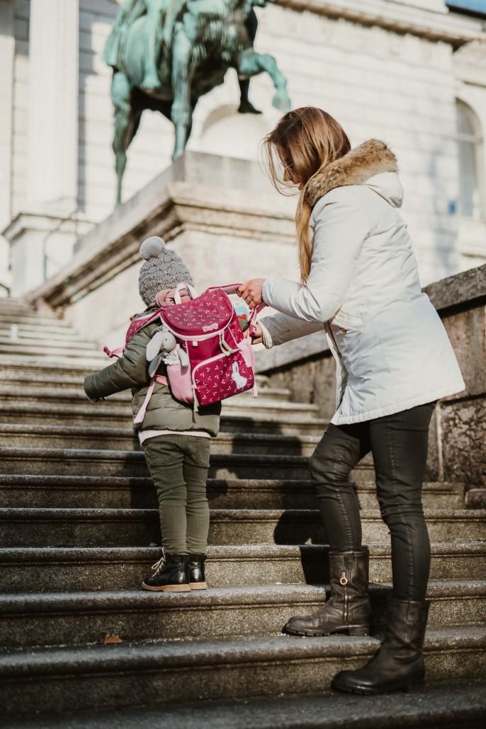 Kindergartenrucksack - Was ist wichtig? Was muss hinein? Rucksack anziehen