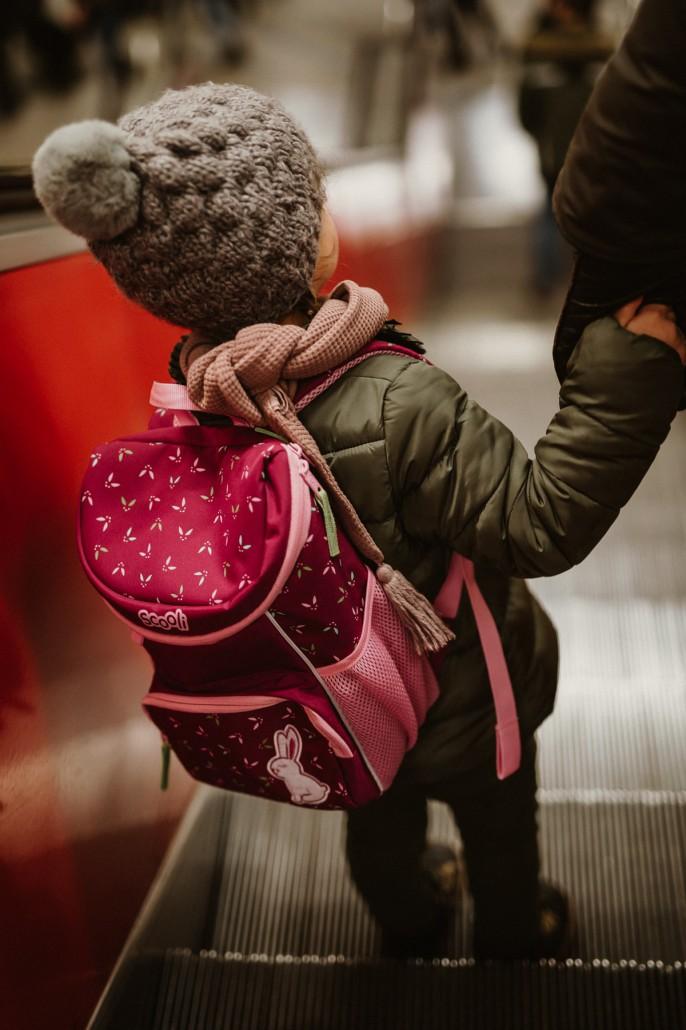 Kindergartenrucksack - Was ist wichtig? Was muss hinein?Scooli Rolltreppe