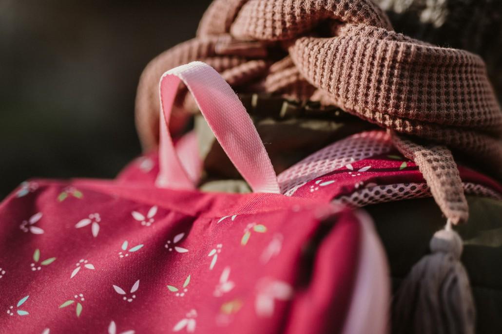 Kindergartenrucksack - Was ist wichtig? Was muss hinein?Trageriemen