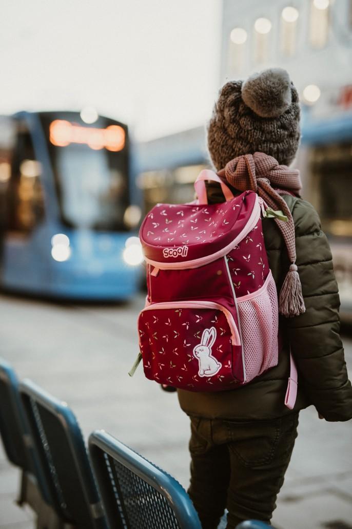 Kindergartenrucksack - Was ist wichtig? Was muss hinein?Tram2
