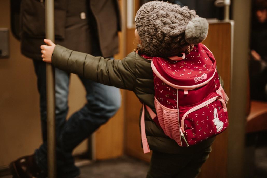 Kindergartenrucksack - Was ist wichtig? Was muss hinein?U-Bahn Scooli Mini-Me