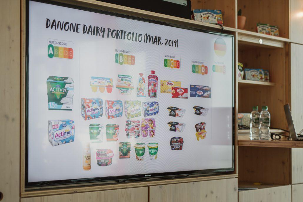 Danone Diary Portfolio (Mar. 2019)