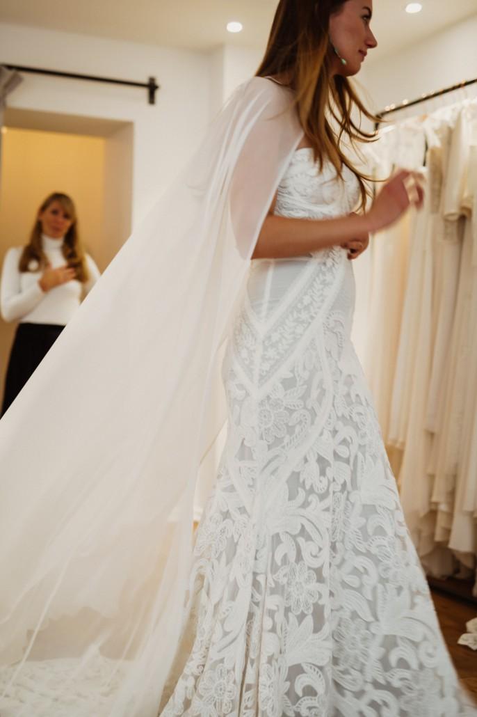 das sexy Brautkleid